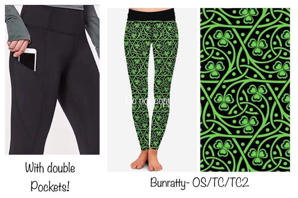 120819 Double Pocket - St. Patty's Pre-Order - Bunratty