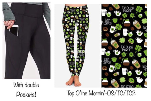 120819 Double Pocket - St. Patty's Pre-Order - Top O'  The Mornin