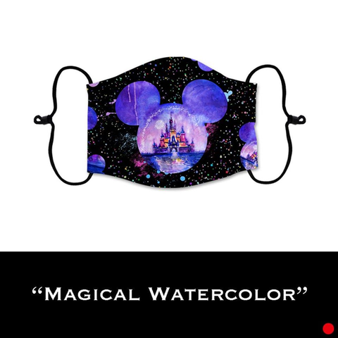 Magical Watercolor- Face Shield - PRE-ORDER - ETA End July 2020