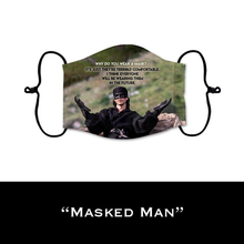 Load image into Gallery viewer, Masked Man - Face Shield - PRE-ORDER - ETA End July 2020