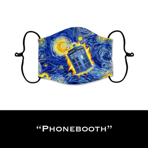 Phonebooth - Face Shield - PRE-ORDER - ETA End July 2020