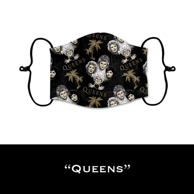 Queens - Face Shield - PRE-ORDER - ETA End July 2020