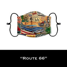 Load image into Gallery viewer, Route 66 - Face Shield - PRE-ORDER - ETA End July 2020