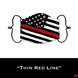 Thin Red Line - Face Shield - PRE-ORDER - ETA End July 2020
