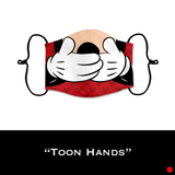 Toon Hands - Face Shield - PRE-ORDER - ETA End July 2020