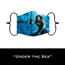 Load image into Gallery viewer, Under The Sea - Face Shield - PRE-ORDER - ETA End July 2020