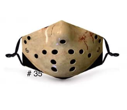 Jason In Stock Face Shield