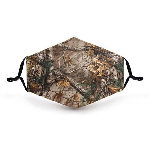 Real Camo In Stock Face Shield