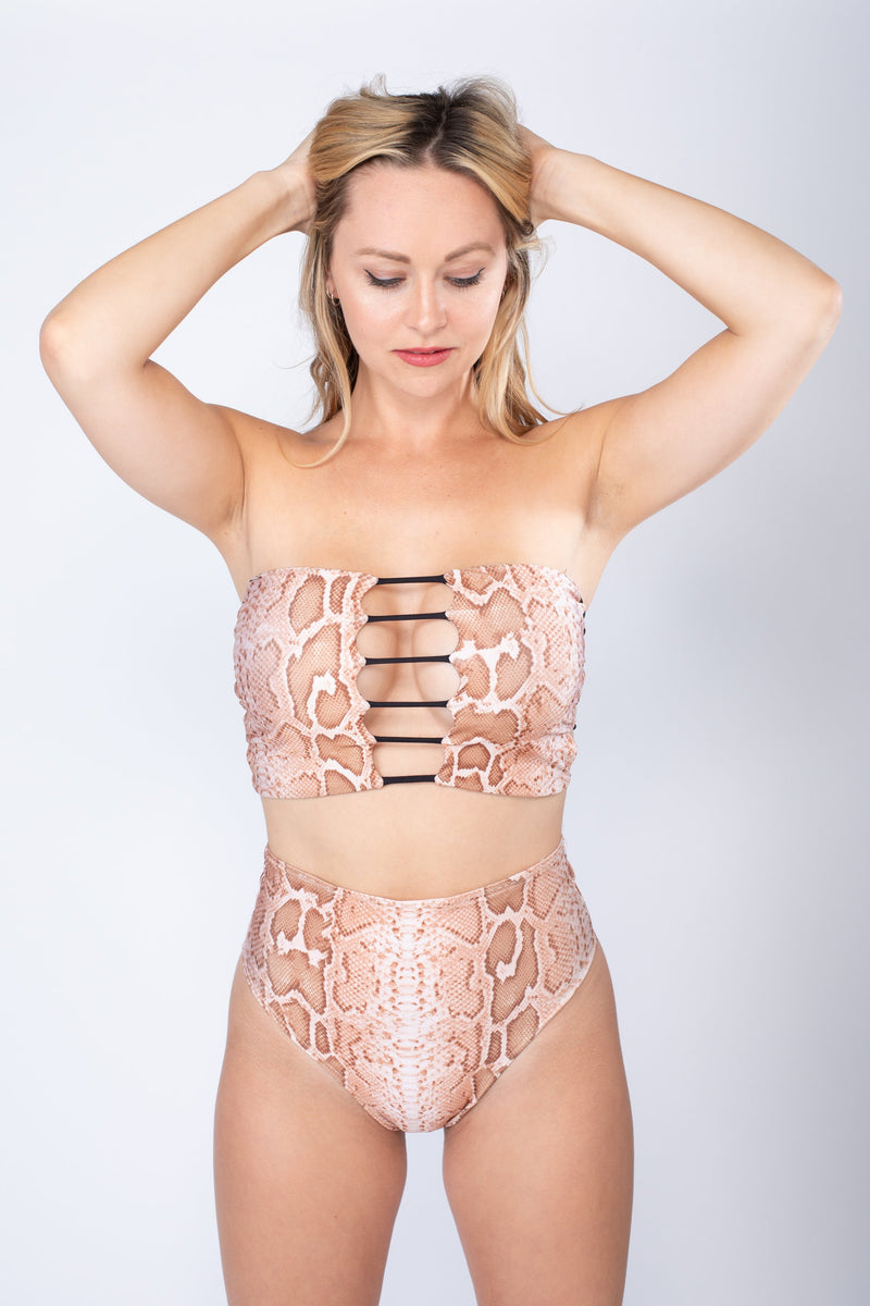 Top - Eden Tan Snake
