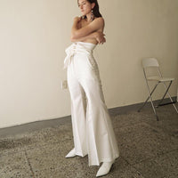 Kimhekim Venus Pants in White