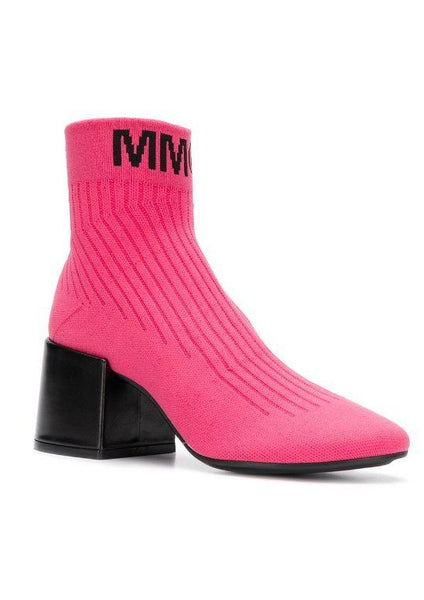 MM6 Maison Margiela Logo Sock Boots