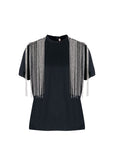 Christopher Kane Embellished Shoulders T-shirt
