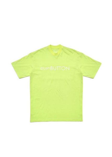 pushBUTTON Logo Print T-shirt