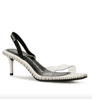 Alexander Wang Nova Low White Sandals