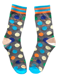 Do It With Passion, Mid Calf Unisex Dress Socks