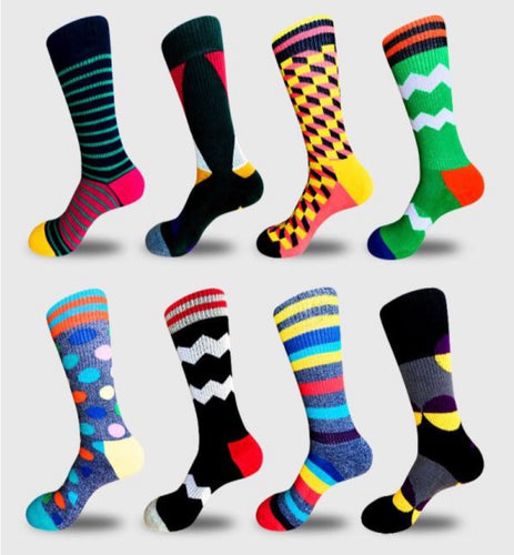 6 Month Sock Subscription (8 Pairs) PLUS Free Shipping