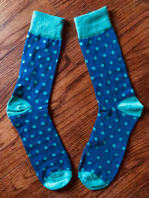 DOTS, Men's Mid Calf Dress Socks