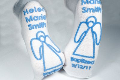 BAPTISMAL Socks 48 pairs (DESIGNED BY YOU)