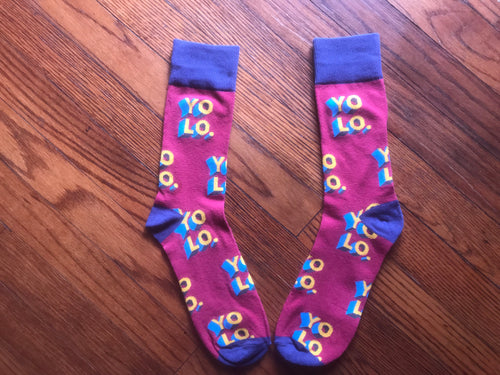 YOLO, Women's Crew Socks