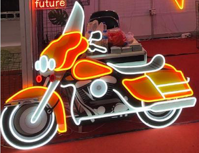 Exclusive motorcycle sign