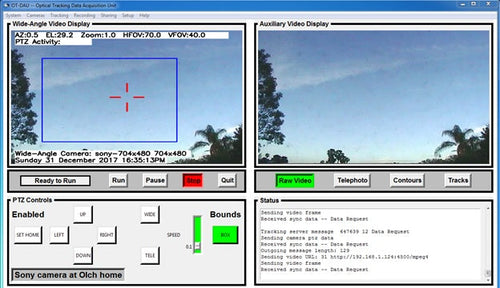 Optical Tracking software