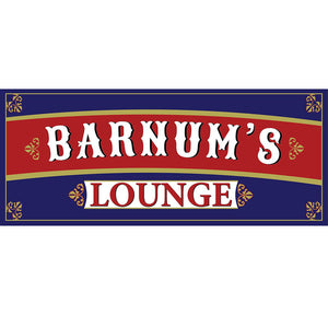 Barnum's Lounge Sign