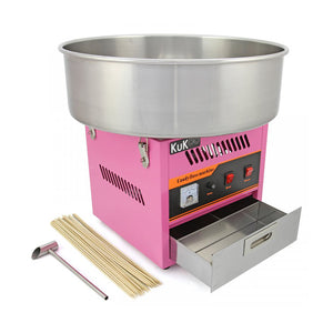 Candyfloss Machine with 100 servings and cones