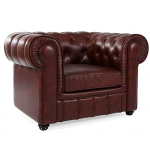 Chesterfield Armchairs Oxblood