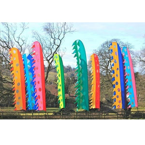 Festival Flags Curved