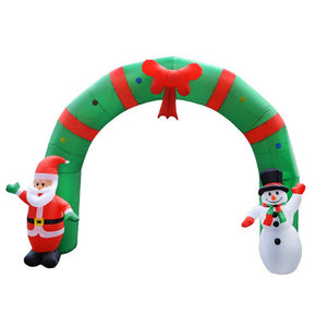Inflatable Christmas Arch 2.4m