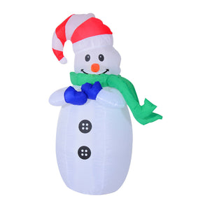 Inflatable Snowman 1.2m