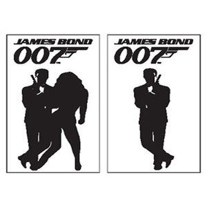 James Bond Card Display 8ft