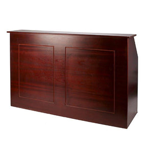 Mahogany Banquet Bar 8ft