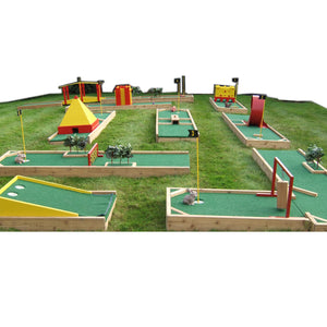 Mini Golf Course Single Hole
