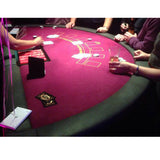 Blackjack Table Purple