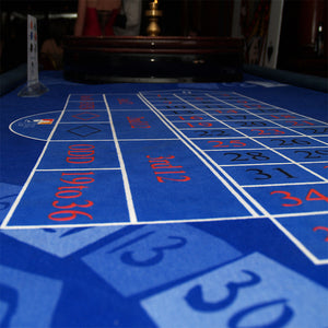 Roulette Table Blue