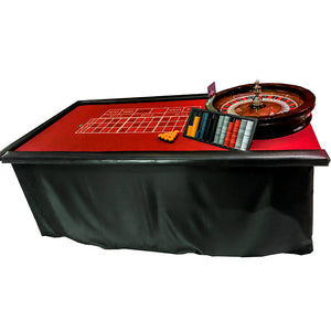 Roulette Table Burgundy