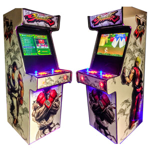 Street Fighter Arcade - White