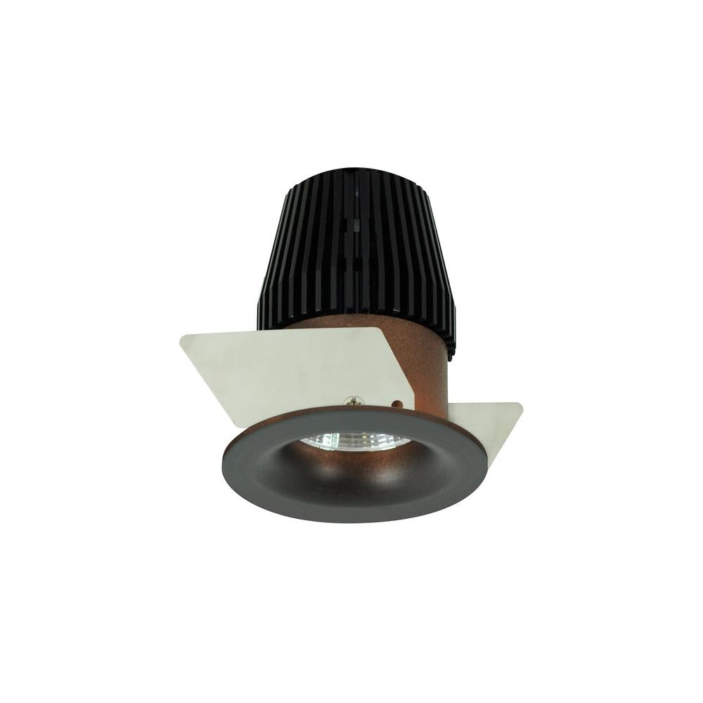 "Nora NIO-1RNBCDXBZ 1"" Iolite Round Bullnose Regress Non-Adjustable Trim, 800lm, Comfort Dim, Bronze (For Iolite Ne"