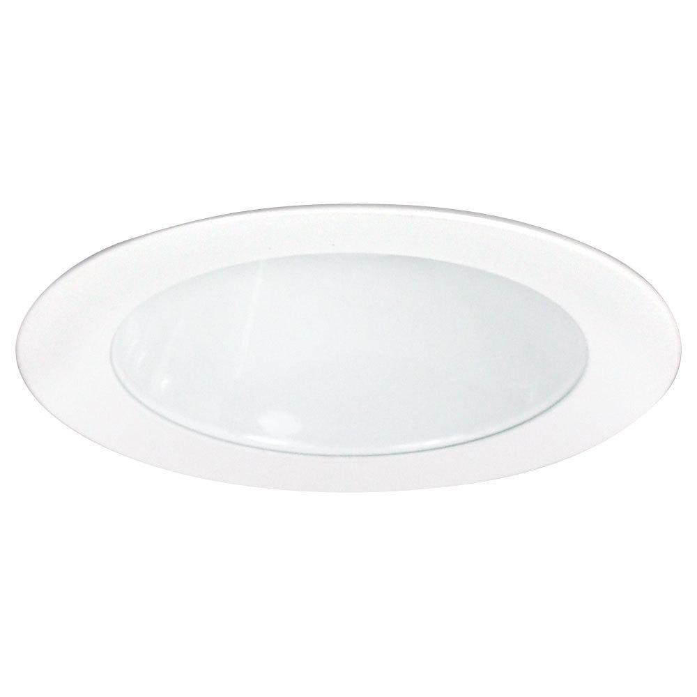 "Nora NL-416 4"",LV WHITE REFLECTOR & RING"
