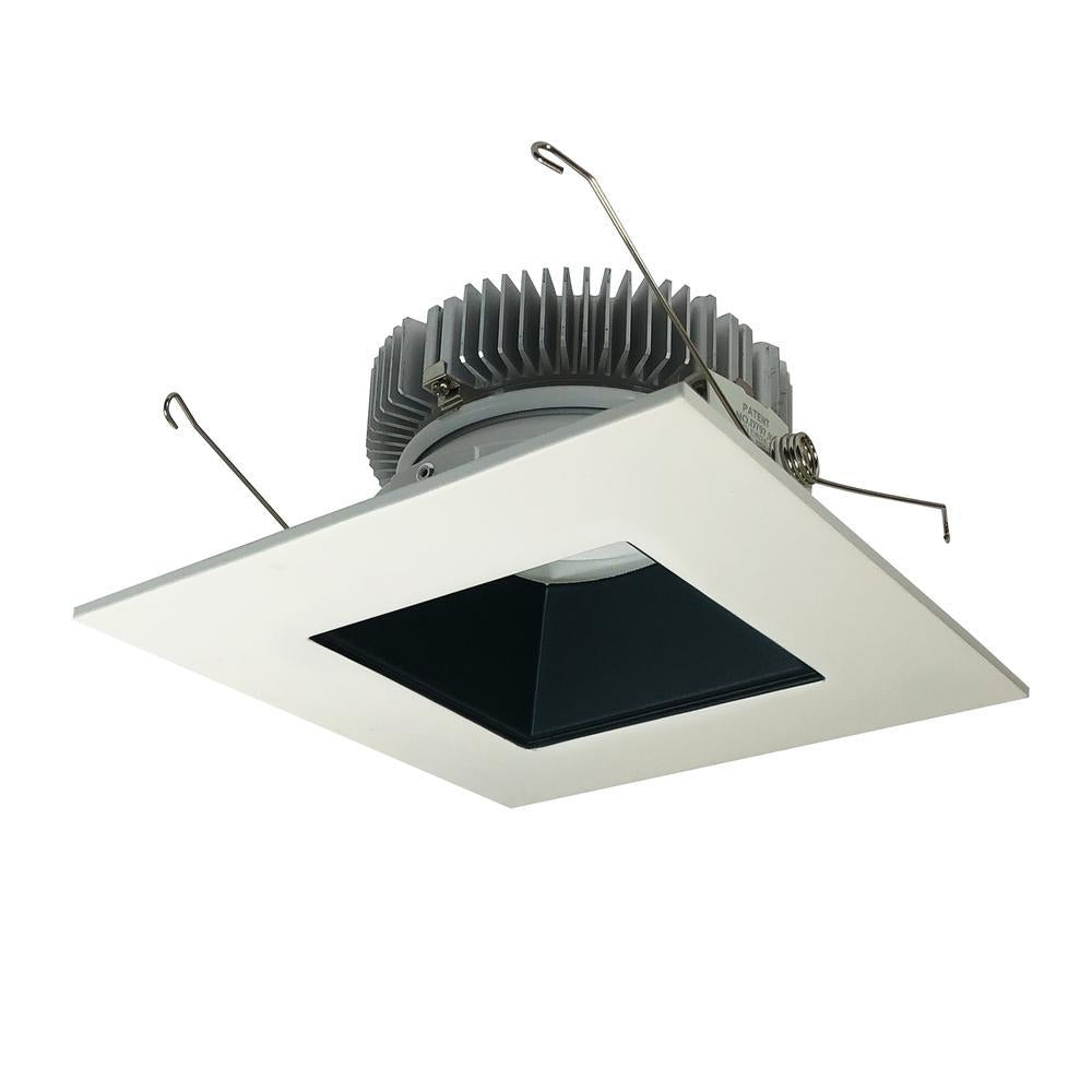 "Nora NLCB2-6561527BW 6"" Cobalt Dedicated High Lumen Square/Square, 1500lm, 2700K, Black/White"