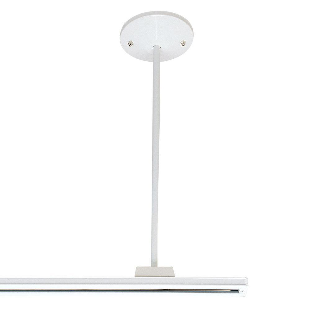 "Nora NT-305W 18"" Pendant Assembly Kit, 1 or 2 Circuit Track, White"