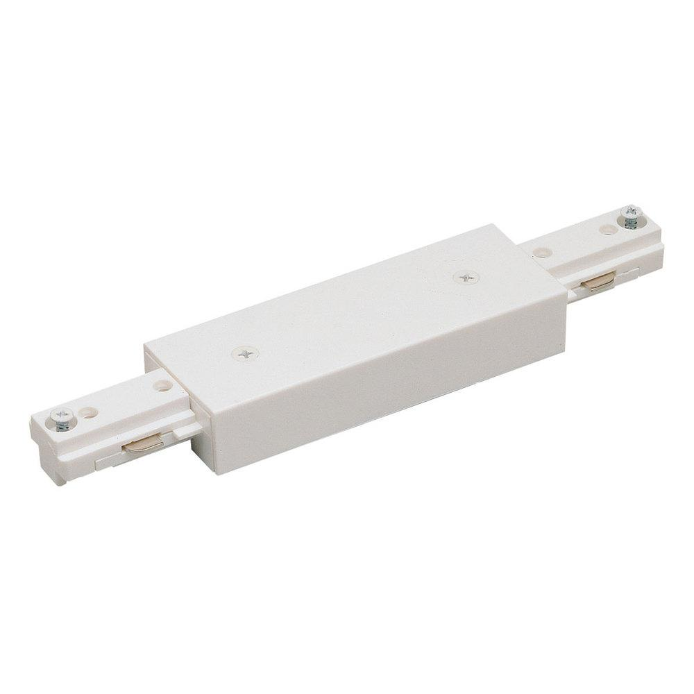 Nora NT-2312W I Connector, 2 Circuit Track, White