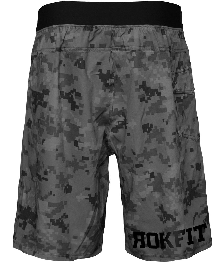 RokFit Camo Chipper Shorts