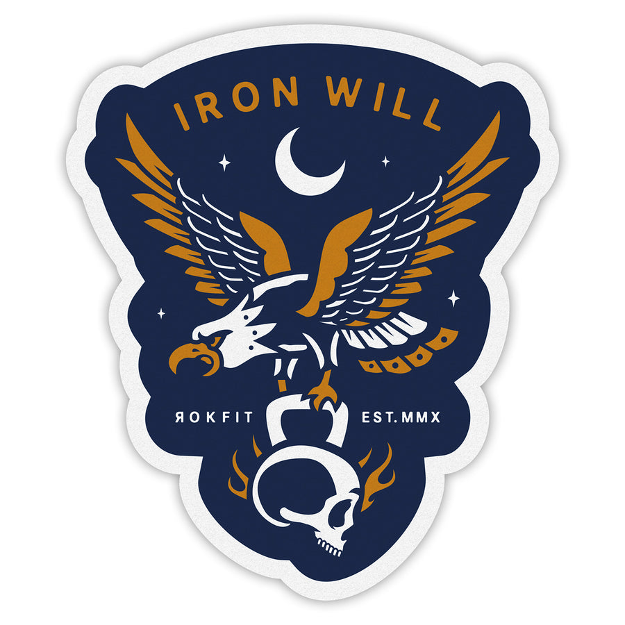 Iron Will - Sticker