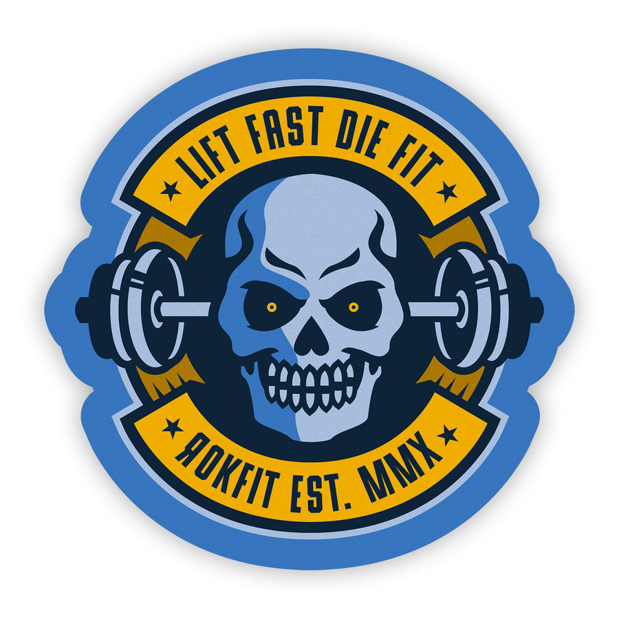 Lift Fast Die Fit - Sticker