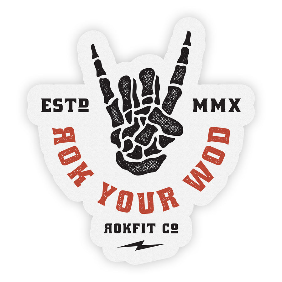 ROK Your WOD - Sticker