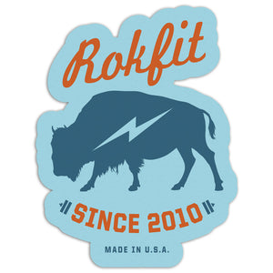 RokFit Bison Sticker