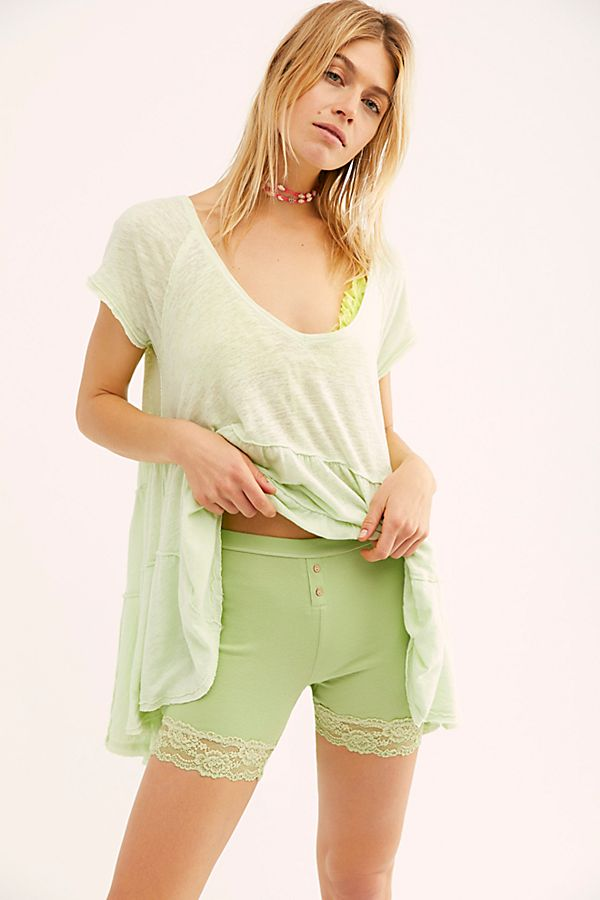 Free People bike shorts