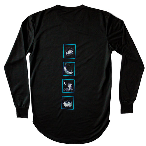Simply AstroGuy Long-Sleeve Long Tee (w/ ThumbHoles)
